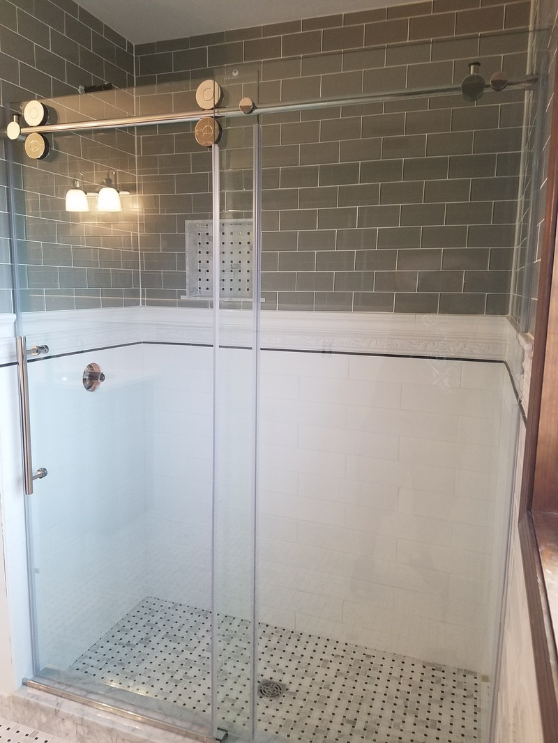 custom kerdi  walk in shower
