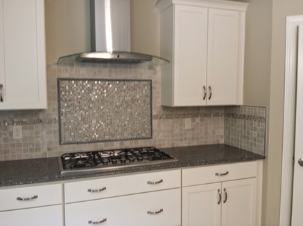 kitchen back-splash awesome cook top picture frame